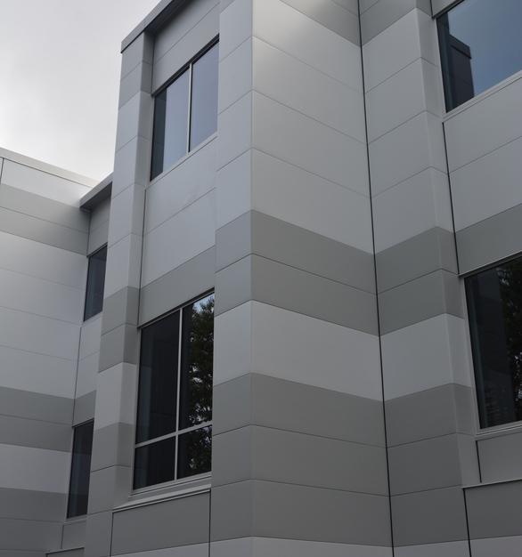 CF Architectural Horizontal Wall Panel