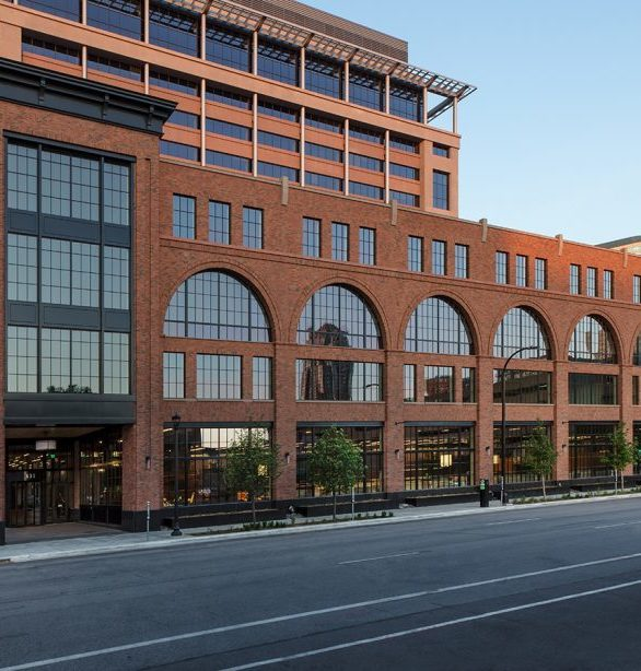 The Millwright building features over 400 St. Cloud Windows and is touted as the newest 'old' building in downtown Minneapolis perArchitecture MN.
