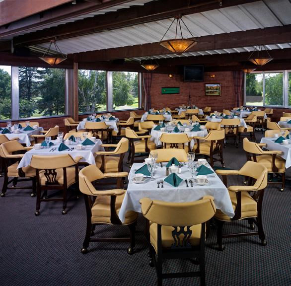 Elegant dining area at Minnetonka Country Club.