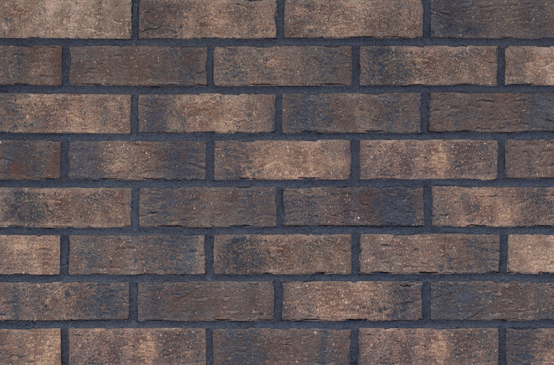"""Mocha Blend King Size Authentic Texture Collection • 2-5/8""""x9-5/8"""" Corner brick are available • Certified to pass over 1000 freeze/thaw cycles less than 3% water absorption."""