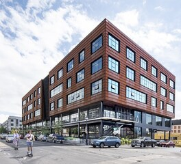 Modern Exterior Office Building Dri-Design Panel Systems