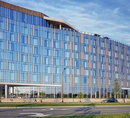 Moody nolan AC hotel by marriott Bridge Park modern Exterior Facade