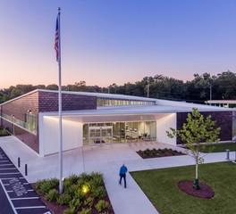 Moody nolan Shepard branch library modern exterior design