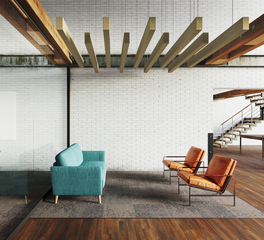 MPS Joist Acoustic Panels in Lounge