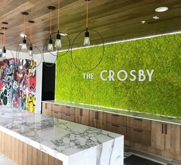 Natura The Crosby Moss Wall Art with Brand Logo