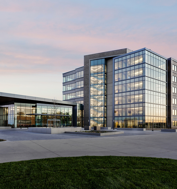 """""""Natural light will really help employees enjoy the facilities,"""" said past-Culture Counsel chairperson Stacy Marean. """"The [Harmony] glass is designed to not need window coverings, as it adjusts for glare and brightness as necessary, and also as it lets in the natural light as much as possible."""""""