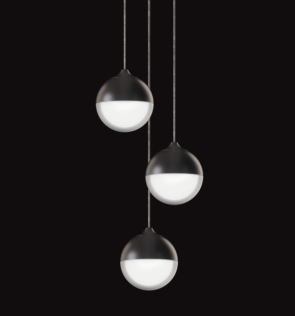 OCL Architectural Lighting's popular Glowball™️ is now available as a cluster pendant! Shown here in a 3 drop, this versatile, statement-maker also comes in 5 and 7 drop options. Perfect for large scale installations.