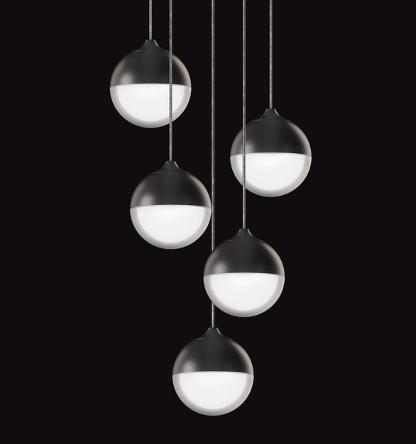 OCL Architectural Lighting's popular Glowball™️ is now available as a cluster pendant! Shown here in a 5 drop, this versatile, statement-maker also comes in 3 and 7 drop options. Perfect for large scale installations.
