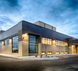 Nor-Son Commercial Construction Cass Lake Clinic Expansion Exterior
