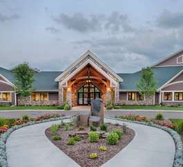 Nor-son Commercial Construction Worship Consruction Timberwood Church Exterior enterence