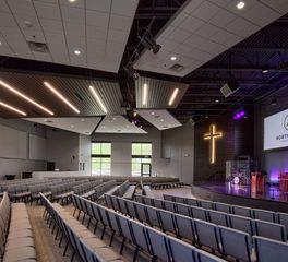 NorthCross Lutheran Church Station 19 worship area