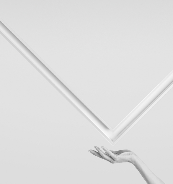 """A linear LED recessed luminaire with unique hollow aperture design of just 1.5"""", Notch 1 changes and challenges the industry standard. Delivering an actual slot in the ceiling which can be extruded right to the vertical face of the drywall, Notch adds texture, depth and detail to an otherwise undifferentiated category of products.  Perfect for drywall ceilings with exposed vertical fasciae, Notch's optional trimless Dado endcap extrudes the hollow architecture to the edge of drywall soffit, pushing the boundaries of what is possible in lighting design. Continuous lines of light, various open and closed patterns and transitions for drywall and grid ceilings deliver design flexibility."""