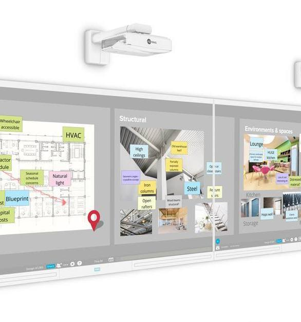Get your walls working for you with a solution that combines the simplicity of paper with the power of digital.