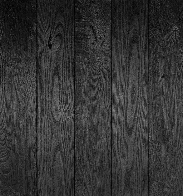 Shou Sugi Ban Oak Carbon by Pioneer Millworks. Charred wood paneling that is burned, brushed once, and coated with non-toxic, water-based polyurethane
