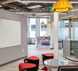 Office collaborative spaces