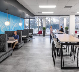 Office Commons at SRF Consulting Group of Bismarck, ND