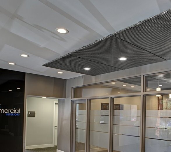 The project used GKD Atlantic metal mesh using the clip attachment system.