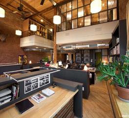 office interior reception desk