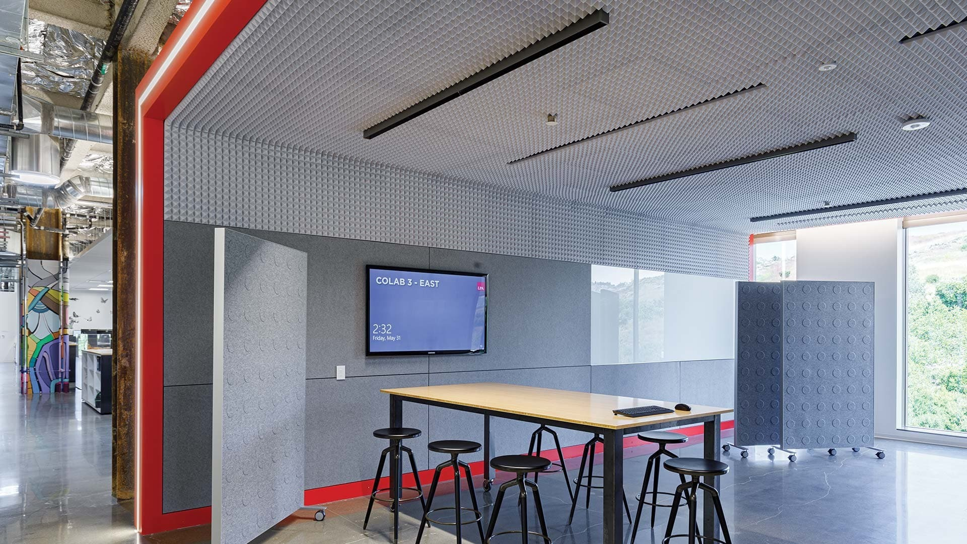 LPA Irvine Office Headquarters located in Irvine, CA featuring lighting products by Acuity Brands - A-Light. Project in collaboration with LPA, Inc. and Acuity Brands agent Performance Lighting.   Photographer: Cristian Costea (Costea Photography)