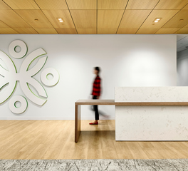 Office reception desk inspiration
