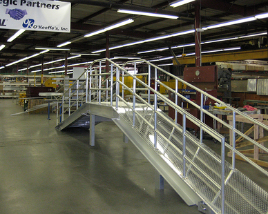 A custom cat walk was built by O'Keeffe for a client out of Vacaville, California.