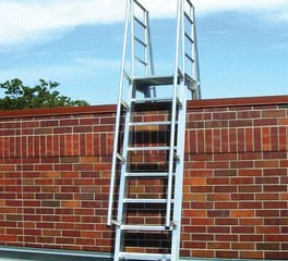 Okeeffes ship ladders exterior roof ladder