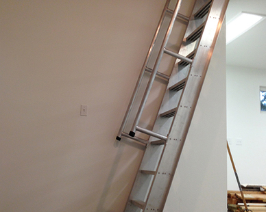 Model 522, Ship Ladder, by O'Keeffe's provides a lightweight, corrosive resistant, and low maintenance aluminum.