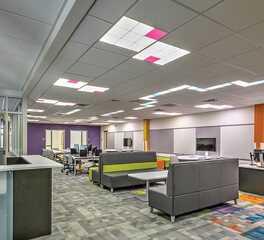 open classroom design acuity brands ceiling lighting
