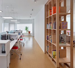 Open Office designed by Anya Moryoussef