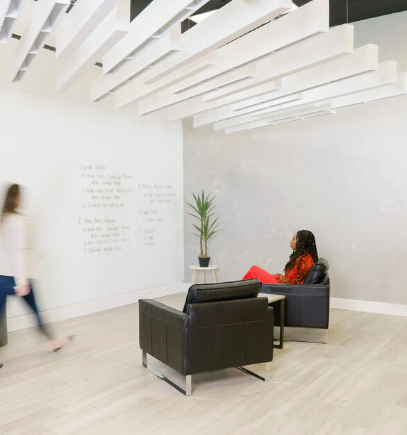 Fuse acoustic panels are available in a wide array of colors, textures and sizes. Along with providing reduced reverberation and echo, they are also easy to install and clean.