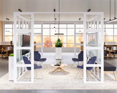 Featured Products: Indiana Furniture Square One, Edge Design Spirit, Edge Design Natta, KFI Studios Umage  Lighting, Magnuson Group KASKAD