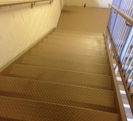 Pacific Stair Checker Plate Stairs Landings