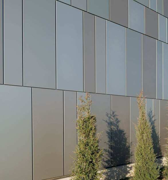 Available in any color, with the ability to match colors of your choice without expensive upcharges – Dri-Design Painted Aluminum Panels offer the ultimate design flexibility for exterior and interior applications. Panels are painted using industry leading Fluoropolymer based paints for long lasting finish durability, while our finishers use a 100% air capture system to destroy the VOCs produced, so there is no adverse environmental impact.