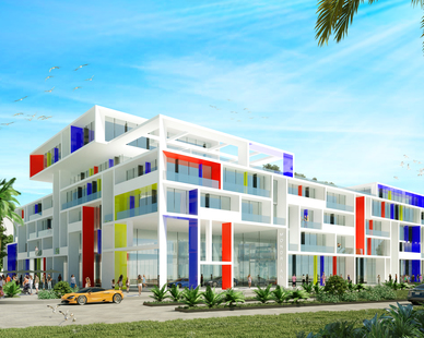 A beautiful new 200-key hotel that Palma is developing.