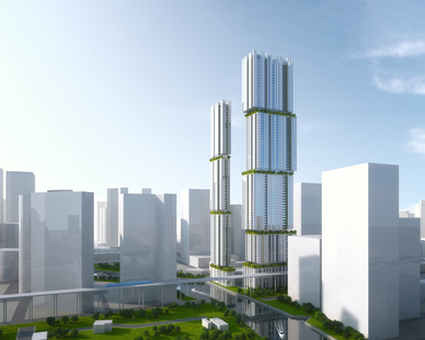 PALMA looks to expand Miami's ecological footprint with these beautiful riverside towers.