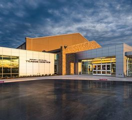 Parkhill Smith & Cooper ACU Teague Special Events Center Abilene Christian University Exterior