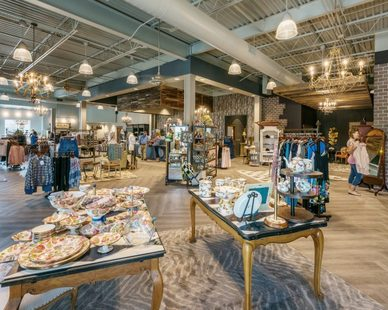 Enjoy a wonderful shopping experience at Hulla B'Lu retail store in Lubbock, Texas, by Parkhill Smith & Cooper.