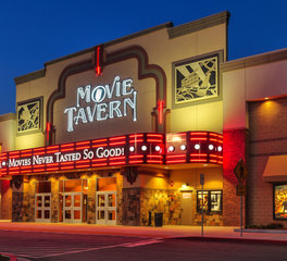 Parkway Construction Movie Tavern Exterior Signage