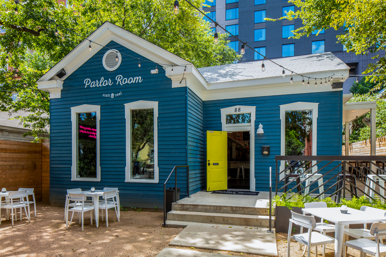 Parlor Room on Rainey Street, Austin, Texas, by Cornerstone Architects.