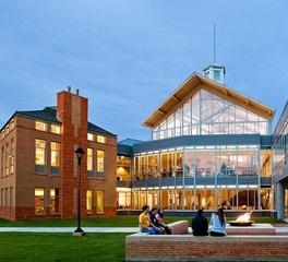 PC Construction Clarkson University Student Center Exterior Window Design