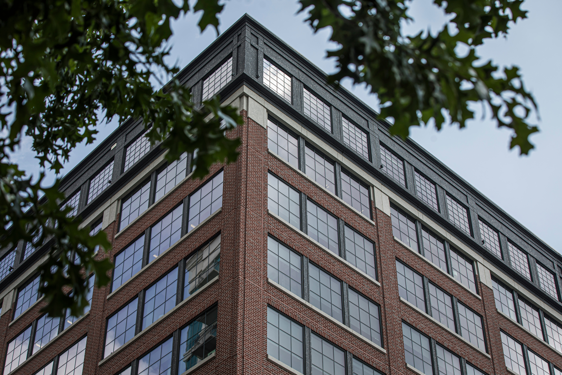 Pella Windows and Doors 309 East Paces Atlanta Georgia Fixed Frame Building Windows Brick Face Facade