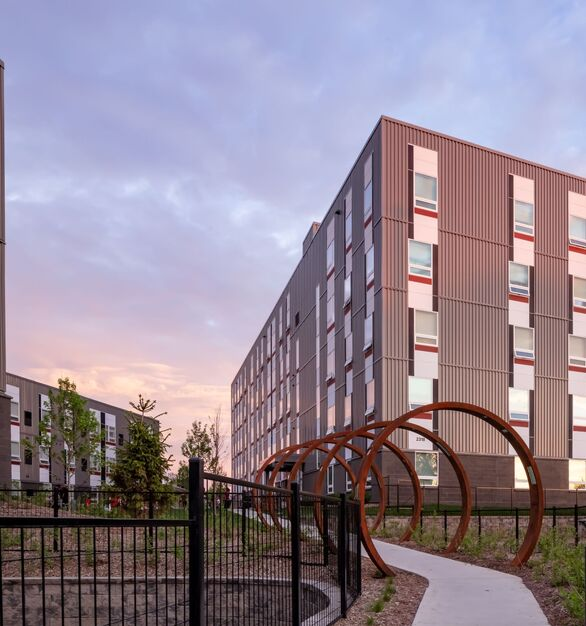 Pella Windows and Doors Hook and Ladder Affordable Housing Project Minneapolis Minnesota