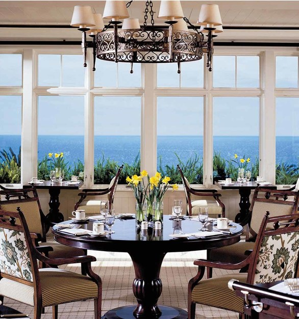 Architect Series products, by Pella Windows and Doors, have a historically correct appearance – including a finely detailed sash and grille profile – that enhances the resort's traditional aesthetic.