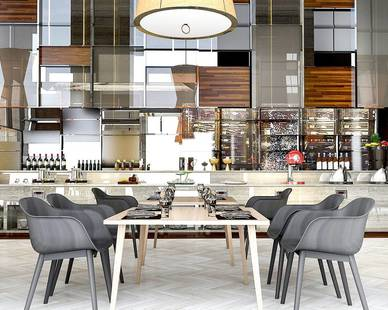 Offering all-organic fare, this restaurant's airy, natural aesthetic reflects its health-driven ethos.