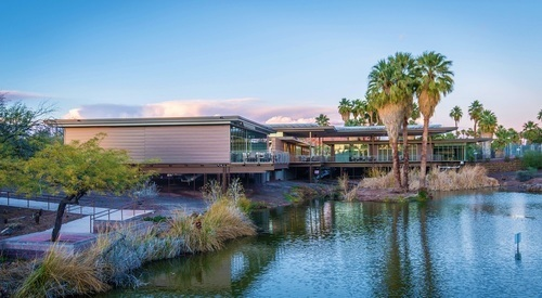 Exterior of Phoenix Zoo fitted with Morin Matrix system.
