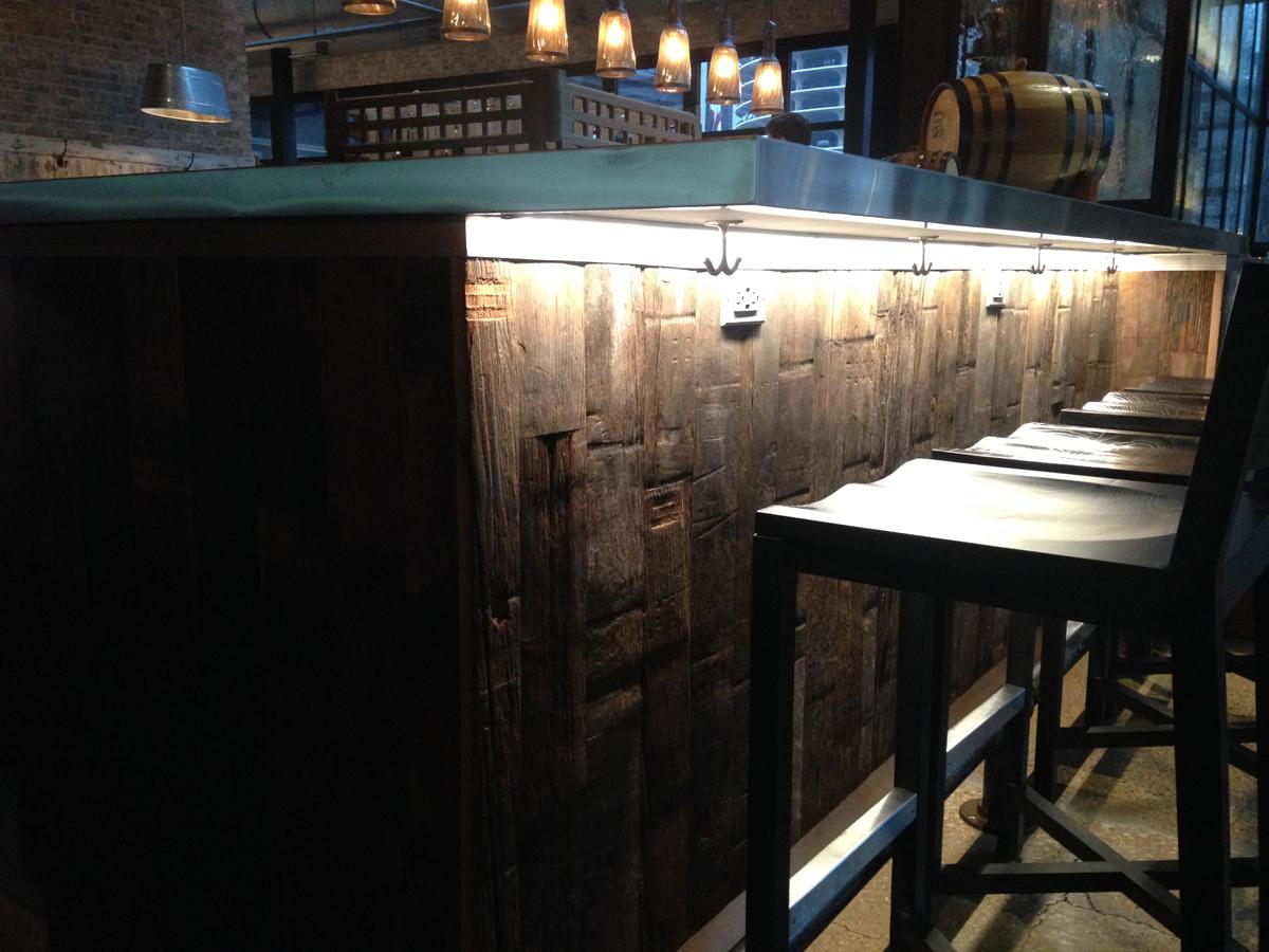 Raised Bar Chicago Il Pioneer Millworks