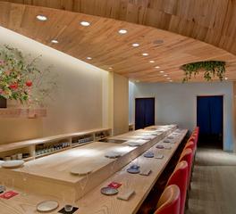 Pioneer Millworks Sushi Restaurant NYC AG WOAK floor Elm Ceiling2  3