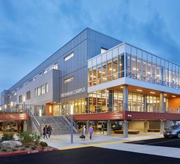 Pure + FreeForm Mt Si High School Exterior Facade Design