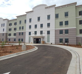 QuietRock Sound Reducing Products | Hotel Exterior | Candlewood Suites