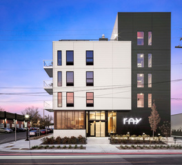 Ray Apartments UrbanWorks Architecture Exterior
